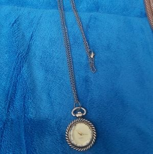 Watch Necklace Gorgeous Never Worn